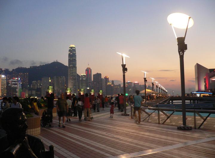 Avenue Of The Stars Amp The Harborfront Promenade Hong