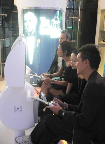 The Deep Anger gang playing EA games...
