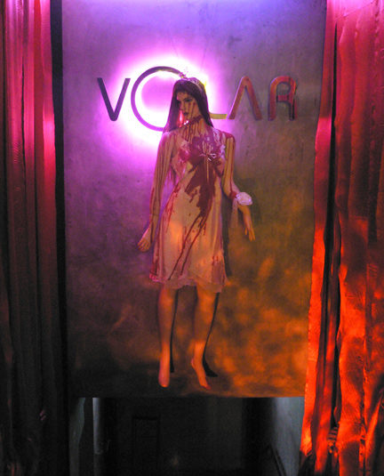 Entrance to the club Volar, in Lan Kwai Fong