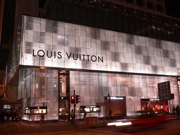 Louis vuitton enter chinese market