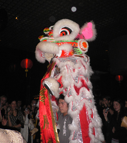 Lion Dance at Dragon-i