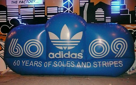 Adidas 60 years soles strip