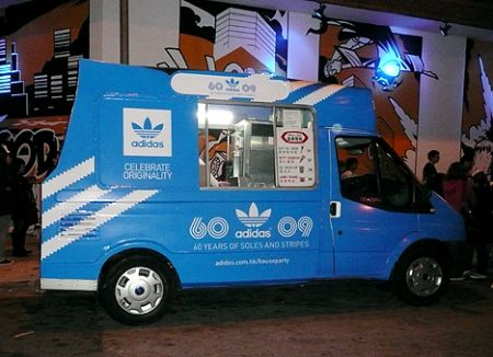 Adidas 60th party Hong Kong