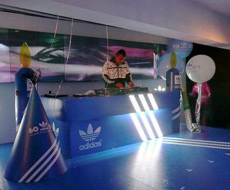 Adidas Hong Kong 60th party