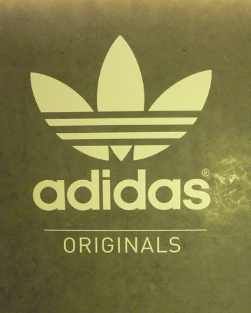 The Adidas logo was smartly positioned throughout
