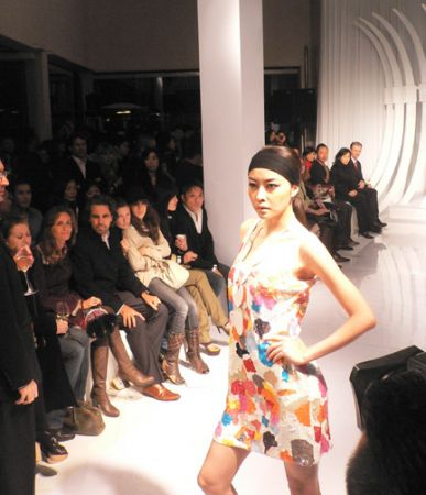 Apsara Pop Art dress 2008