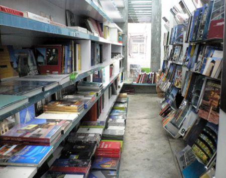 Basheer books shelves