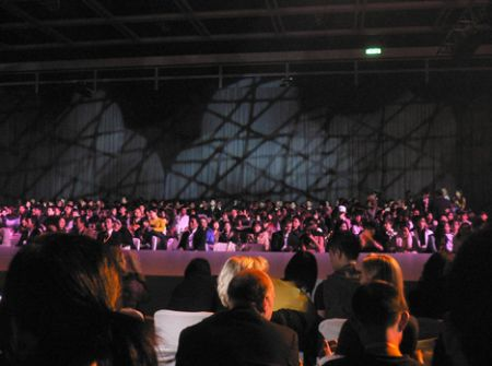 Capacity fashion show