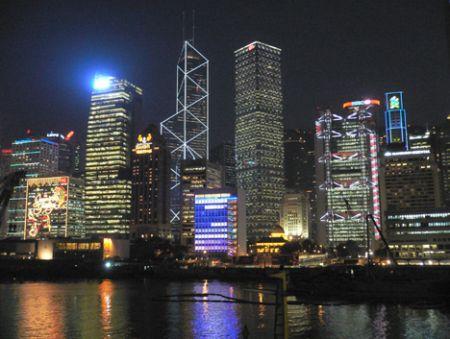 Central HK Xmas Lights