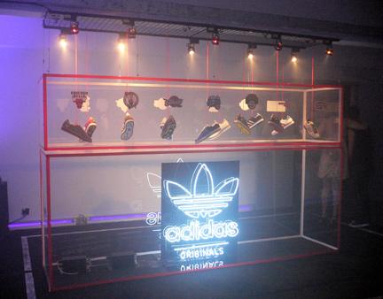 Clot Adidas installation