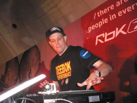 DJ Domination HK Reebok