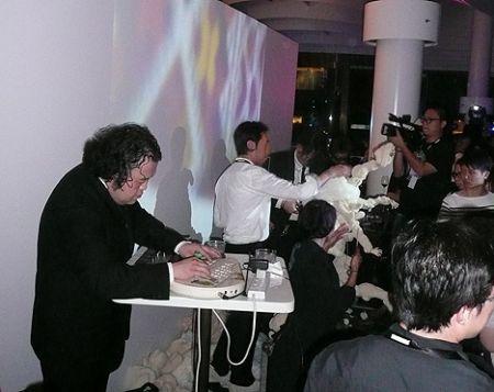 DJ Fran Key Jun Takahashi undercover