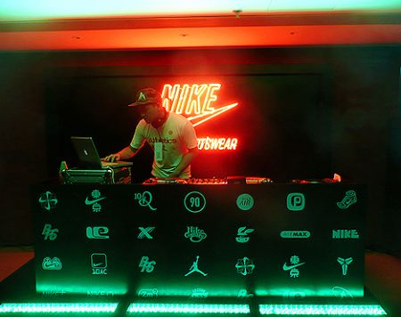 DJ Lomang Nike party Hong