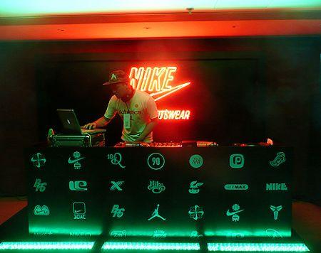 DJ Lomang Nike party Hong