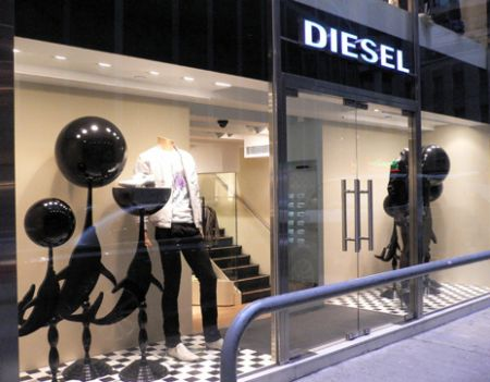 Diesel store Hong Kong On L