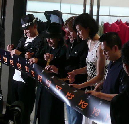Du Juan model China Y3 andy lau