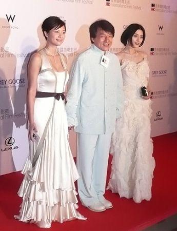 Fan bingbing Jackie Chan Sh