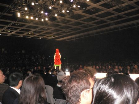 Fashion week catwalk Hong K