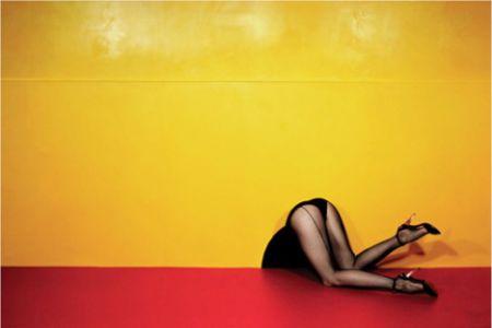 Guy Bourdin fashion photo