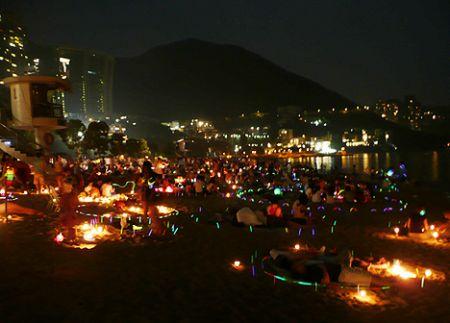 HK Mid Autumn fest Hong Kon
