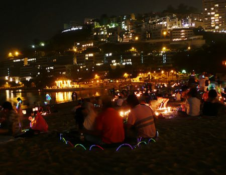 Hong Kong Mid Autumn festiv
