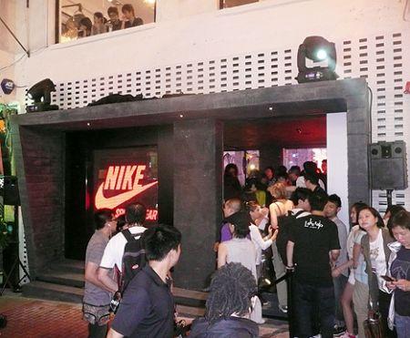 Hong Kong Nike NSW store