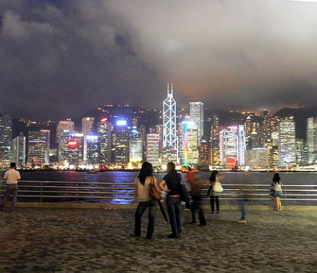 Hong Kong harbor harbour Ts