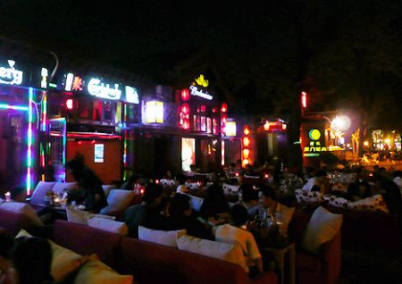 Houhai bar restaurant Beiji
