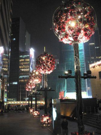 IFC Christmas decoration