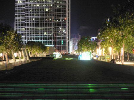IFC roof garden grass long