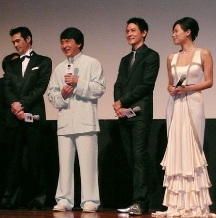 Jackie Chan Daniel Wu Taken