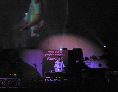 Jay Weezy DJing Reebok