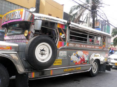 Jeepney Side Manila