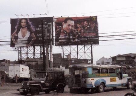 Jet Li San Miguel billboard