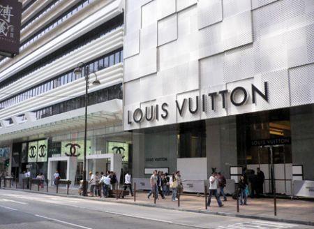 LV store Hong Kong