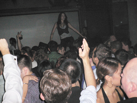 Laurent Garnier Volar party