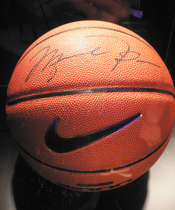 Michael Jordan autograph ba