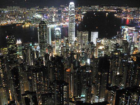 Peak tram Hong Kong HK