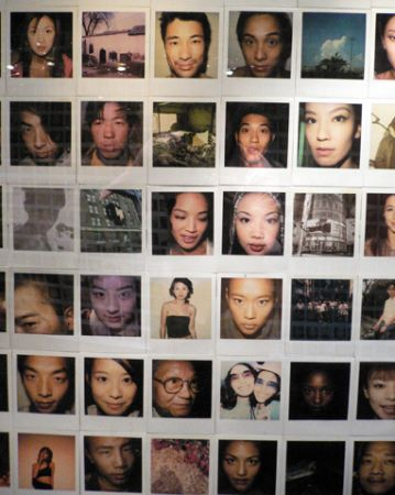 Photo Wall close up