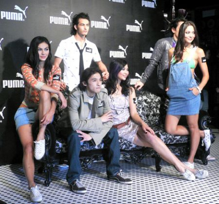 Puma fashion show Hong K