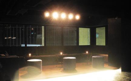 Racks Elevated lounge