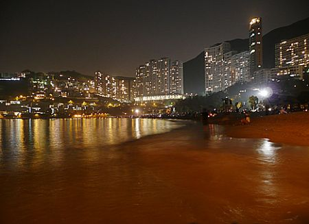 Repulse Bay night Hong Kong