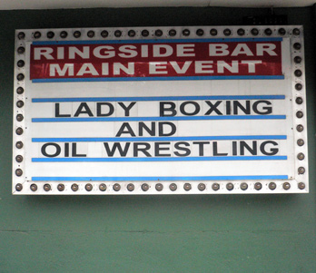Ringside Bar Boxing