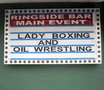 Ringside Bar Boxing