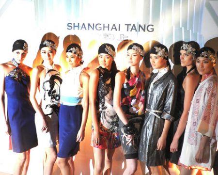 Shanghai Tang apsara fashio
