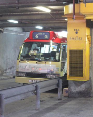 Shek O mini bus