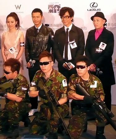 Sniper Richie Jen Huang Xia. The past week has been a blur of films,