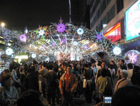 Xmas decoration Hong Kong