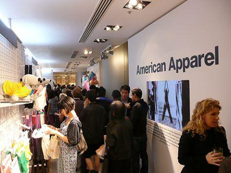 american apparel Hong Kong shop HK