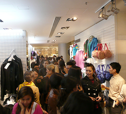 american apparel hong kong address